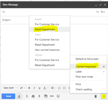 how to create an email template in gmail no html no software